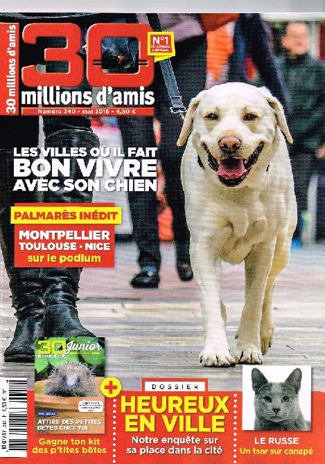 du Domaine des Cotieres - 30 MILLIONS D'AMIS CHEZ LES PETITS BRABANCONS