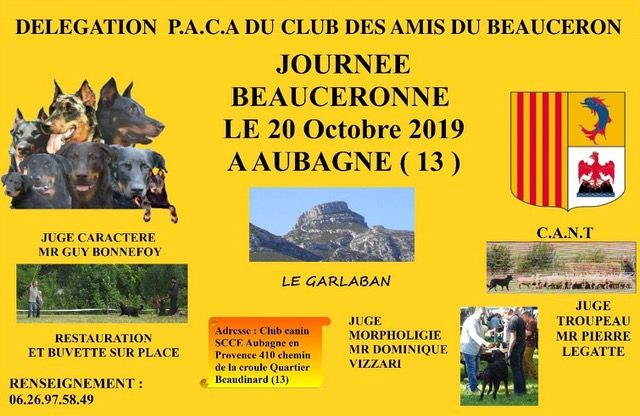 Du Grand Buech - JOURNEE BEAUCERONNE 20 OCTOBRE 2019