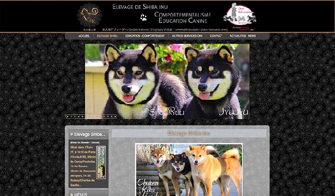 Go Chuken Kiku Kensha - Website Chuken Kiku Kensha -Shiba inu