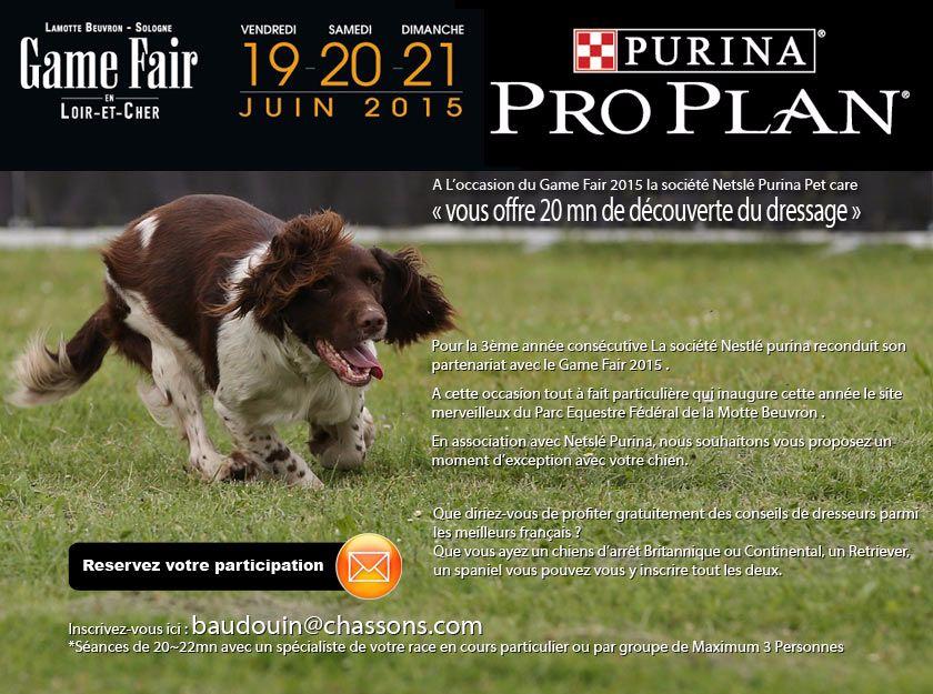 Jean Michel Lanne - Game Fair 2015.