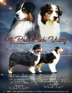 Berger Australien - Of Red Rock Valley