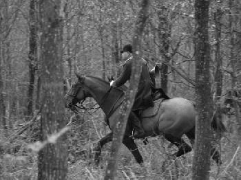La chasse - son sport favori