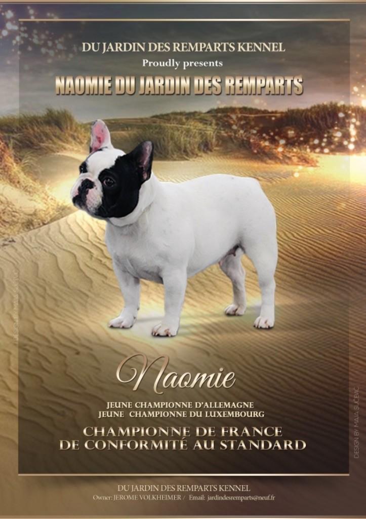 du Jardin des Remparts - CHAMPIONNE DE FRANCE